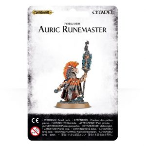 Games Workshop (Direct) Age of Sigmar  Fyreslayers Fyreslayer Auric Runemaster - 99070205005 - 5011921067619