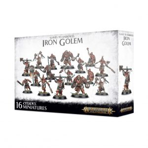 Games Workshop (Direct) Age of Sigmar  Slaves to Darkness Slaves to Darkness Iron Golem - 99120201091 - 5011921121953