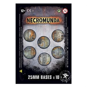Games Workshop (Direct) Necromunda  Necromunda Necromunda: 25mm Bases - 99070599001 - 5011921096275