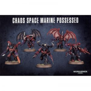 Games Workshop Warhammer 40,000  Chaos Space Marines Chaos Space Marines Possessed - 99120102056 - 5011921064748