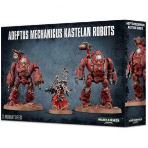Games Workshop Warhammer 40,000  Adeptus Mechanicus Adeptus Mechanicus Kastelan Robots - 99120116019 - 5011921091874