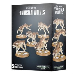 Games Workshop Warhammer 40,000  Space Wolves Space Wolves Fenrisian Wolves - 99120101352 - 5011921149285