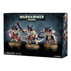 Games Workshop Warhammer 40,000  Tyranids Tyranid Warriors - 99120106036 - 5011921056552