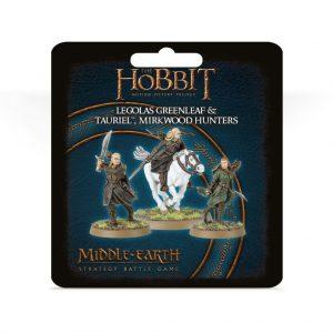 Games Workshop (Direct) Middle-earth Strategy Battle Game  Good - The Hobbit The Hobbit: Legolas Greenleaf and Tauriel, Mirkwood Hunters - 99811463024 - 5011921137121