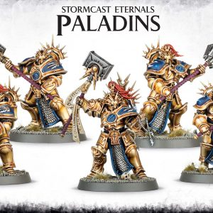 Games Workshop Age of Sigmar  Stormcast Eternals Stormcast Eternals Paladins - 99120218005 - 5011921061198