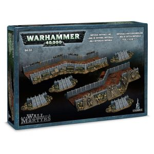 Games Workshop (Direct) Warhammer 40,000  40k Terrain Wall of Martyrs - Imperial Defence Line - 99120199026 - 5011921041251