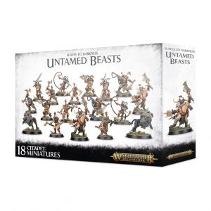 Games Workshop (Direct) Age of Sigmar  Slaves to Darkness Slaves to Darkness Untamed Beasts - 99120201094 - 5011921121991