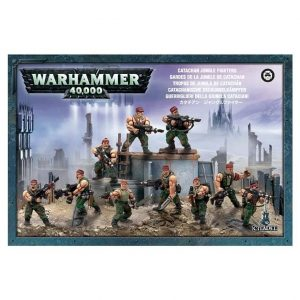 Games Workshop (Direct) Warhammer 40,000  40k Direct Orders Catachan Jungle Fighters - 99120105040 - 5011921015580