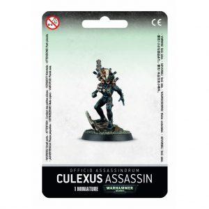 Games Workshop Warhammer 40,000  Officio Assassinorum Culexus Assassin - 99070108002 - 5011921066469