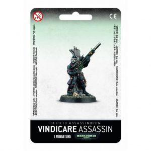 Games Workshop Warhammer 40,000  Officio Assassinorum Vindicare Assassin - 99070108001 - 5011921987924