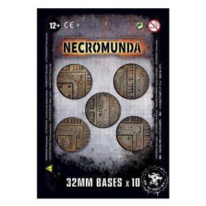 Games Workshop Necromunda  Necromunda Necromunda: 32mm Bases - 99070599002 - 5011921096282