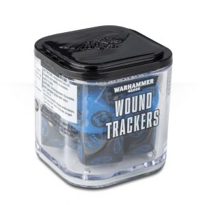 Games Workshop Warhammer 40,000  Warhammer 40000 Essentials Warhammer 40,000: Wound Trackers - 9922019906406 - 5011921087839