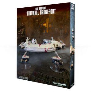 Games Workshop (Direct) Warhammer 40,000  40k Terrain T'au Empire Tidewall Droneport - 99120113049 - 5011921066582