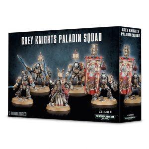 Games Workshop Warhammer 40,000  Grey Knights Grey Knight Paladin Squad - 99120107014 - 5011921092376
