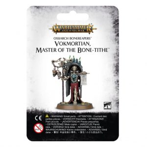Games Workshop Age of Sigmar  Ossiarch Bonereapers Ossiarch Bonereapers Vokmortian, Master of the Bone-tithe - 99070207012 - 5011921126255
