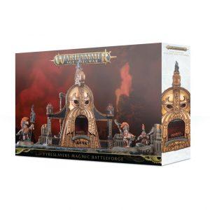 Games Workshop (Direct) Age of Sigmar  Fyreslayers Fyreslayers Magmic Battleforge - 99120205035 - 5011921118281
