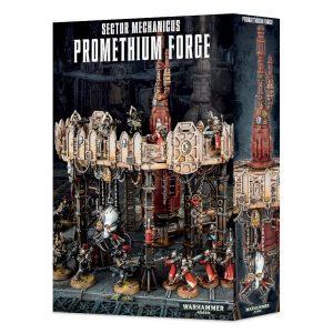Games Workshop (Direct) Warhammer 40,000  40k Terrain Sector Mechanicus Promethium Forge - 99120199052 - 5011921082667