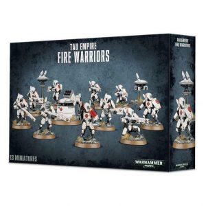 Games Workshop Warhammer 40,000  T'au Empire T'au Empire Fire Warriors - 99120113057 - 5011921091911