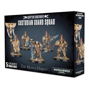 Games Workshop Warhammer 40,000 | The Horus Heresy  The Horus Heresy Adeptus Custodes Custodian Guard - 99120108006 - 5011921080762