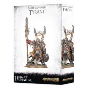 Games Workshop Age of Sigmar  Ogor Mawtribes Ogor Mawtribes Tyrant - 99120213022 - 5011921127115