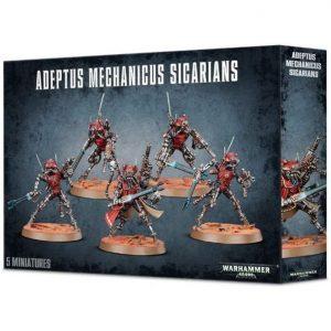 Games Workshop Warhammer 40,000  Adeptus Mechanicus Adeptus Mechanicus Sicarians - 99120116018 - 5011921091867