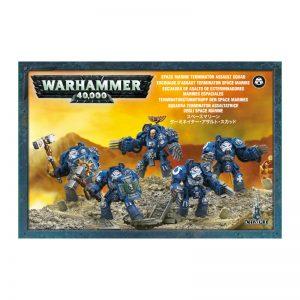 Games Workshop Warhammer 40,000  Space Marines Space Marine Assault Terminator Squad - 99120101297 - 5011921142132