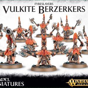Games Workshop Age of Sigmar  Fyreslayers Vulkite Berzerkers - 99120205015 - 5011921067626