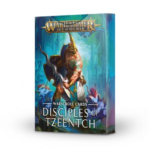 Games Workshop Age of Sigmar  Disciples of Tzeentch Warscroll Cards: Disciples of Tzeentch - 60220201010 - 5011921128716