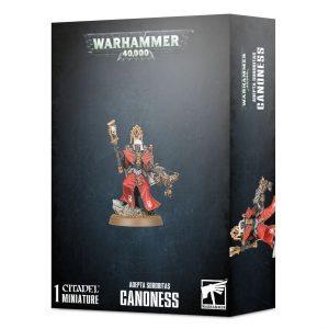 Games Workshop Warhammer 40,000  Adepta Sororitas Adepta Sororitas Canoness - 99120108034 - 5011921131174