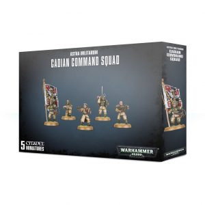 Games Workshop Warhammer 40,000  Astra Militarum Astra Militarum Cadian Command Squad - 99120105078 - 5011921113743