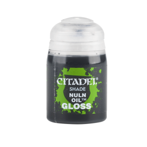 Games Workshop   Citadel Shade Shade: Nuln Oil (Gloss) (24ml) - 99189953033 - 5011921075058