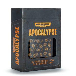 Games Workshop Warhammer 40,000  Apocalypse Warhammer 40000: Apocalypse Dice - 99220199074 - 5011921121175
