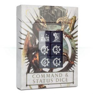 Games Workshop Age of Sigmar  Age of Sigmar Essentials Age of Sigmar Command & Status Dice - 99220299053 - 5011921100231