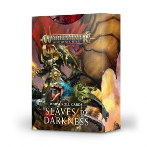 Games Workshop (Direct) Age of Sigmar  Slaves to Darkness Warscroll Cards: Slaves to Darkness - 60220201009 - 5011921128594