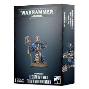 Games Workshop (Direct) Warhammer 40,000  Space Marines Lexicanum Varus, Terminator Librarian - 99120101269 - 5011921128082