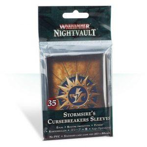 Games Workshop Warhammer Underworlds  Warhammer Underworlds Warhammer Underworlds: Nightvault Stormsire's Cursebreakers Sleeves - 99220718004 - 5011921108046