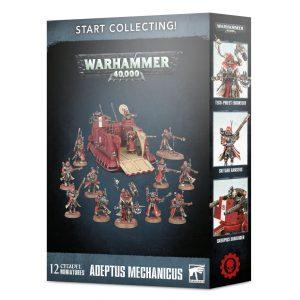 Games Workshop Warhammer 40,000  Adeptus Mechanicus Start Collecting! Adeptus Mechanicus - 99120116027 - 5011921136940