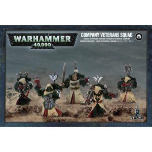 Games Workshop Warhammer 40,000  Dark Angels Dark Angels Company Veterans - 99120101360 - 5011921152940