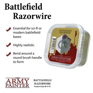 The Army Painter   Barbed Wire Battlefields: Battlefield Razorwire - APBF4118 - 5713799411807