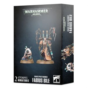 Games Workshop Warhammer 40,000  Chaos Space Marines Chaos Space Marines Fabius Bile - 99120102113 - 5011921133260