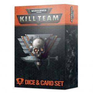 Games Workshop Kill Team  Kill Team Kill Team: Dice & Card Set - 99220199088 - 5011921150663