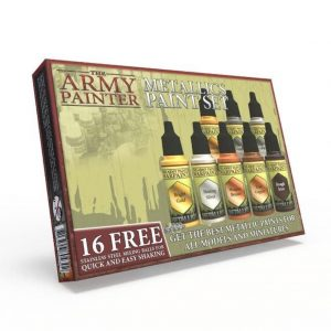 The Army Painter   Paint Sets Warpaints Metallic Paint Set - APWP8043 - 5713799804302
