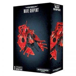 Games Workshop Warhammer 40,000  Craftworlds Eldar Craftworlds Wave Serpent - 99120104051 - 5011921087129