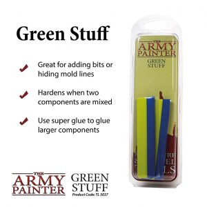 The Army Painter   Modelling Putty & Green Stuff Army Painter Green Stuff - APTL5037 - 5713799503700