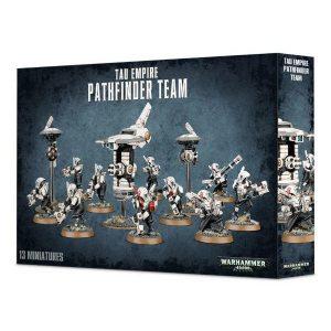 Games Workshop Warhammer 40,000  T'au Empire T'au Empire Pathfinder Team - 99120113061 - 5011921091959