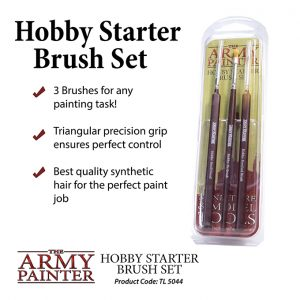 The Army Painter   Army Painter Brushes Hobby Starter Brush Set - APTL5044 - 5713799504400