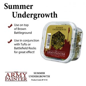 The Army Painter   Lichen & Foliage Battlefields: Summer Undergrowth - APBF4116 - 5713799411609