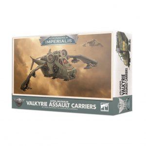 Games Workshop Aeronautica Imperialis  Aeronautica Imperialis Aeronautica Imperialis: Imperial Navy Valkyrie Assault Carriers - 99121808005 - 5011921133154
