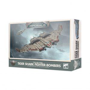 Games Workshop Aeronautica Imperialis  Aeronautica Imperialis Aeronautica Imperialis: T'au Tiger Shark Fighter-bombers - 99121813002 - 5011921133161