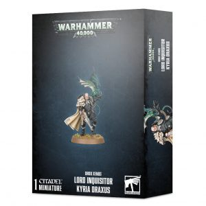Games Workshop Warhammer 40,000  Inquisition Lord Inquisitor Kyria Draxus - 99120108043 - 5011921136971